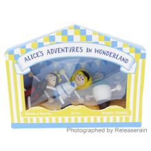 Detoa Lesni Fairy-tales Miniature Wooden Dolls Alice's Adventures In Wonderland