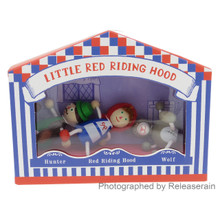 Detoa Lesni Fairy-tales Miniature Wooden Dolls Little Red Riding Hood