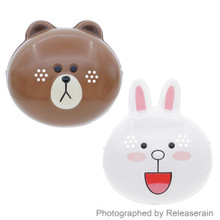 Line Friends Cony & Brown Child PVC Costume Party Japanese Omen Mask Set of 2pcs