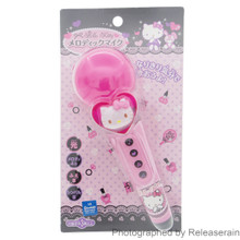 Maruka Sanrio Hello Kitty Melodic Pink Plastic Microphone Mic Music Toy Japan import