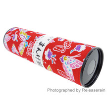 Traditional Japanese Cultural Classic Toy Kaleidoscope Mangekyou Butterflies Made in Japan