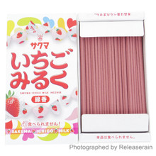 Kameyama Sakuma Ichigo Milk Strawberry Candy Sweets Japanese Mini Incense Sticks 50g Made in Japan