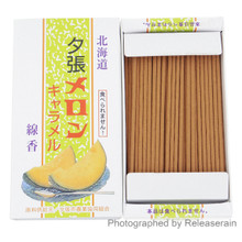 Kameyama Hokkaido Yubari King Melon Caramel Japanese Mini Incense Sticks 50g Made in Japan