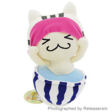 Sugitom Jamma Go!Go! FooCat Hot Spring Spa Bathing Cat Anime Plush Doll Japan Import