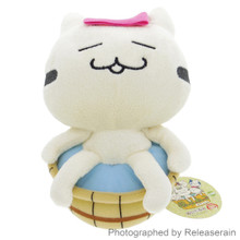 Sugitom Jamma FooCat Hot Spring Spa Bathing Cat Relax Anime Plush Doll Japan Import