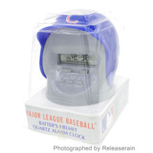 90s Major League Baseball MLB Batter's Chicago Cubs Helmet Quartz Alarm Clock