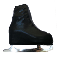 Metallic Figure Skating Boot Covers by Kami-So - Metallic - Black