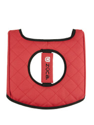 Zuca Seat Cover - Black & Red