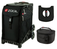 Zuca Sport Bag - Obsidian + FREE Lunchbox and Seat Cover