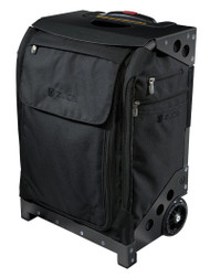 ZUCA ARTIST FLYER BAG - BLACK INSERT  AND BLACK FRAME