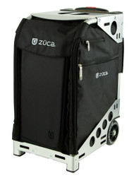 ZUCA ARITST PRO BAG - BLACK INSERT AND SILVER FRAME