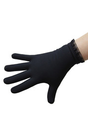 Thermal Figure Skating Gloves with Flounce