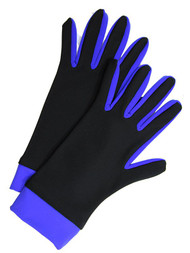 Icedress- Thermal Figure Skating Gloves (Black & Ñornflower)