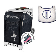 Zuca Sport Bag - Ice Queen with Gift  Seat Cover (White Frame)