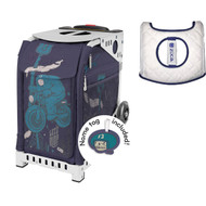 Zuca Sport Bag - Let's Ride with Gift  Seat Cover (White Frame)