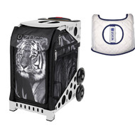 Zuca Sport Bag - TIGER with Gift  Seat Cover (White Frame)