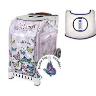 Zuca Sport Bag - Wild & Free  with Gift  Seat Cover (White Frame)