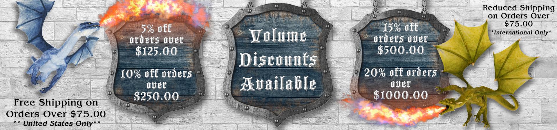 Volume Discounts