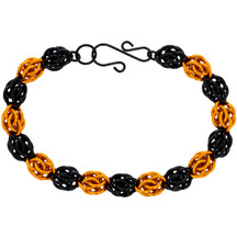 "Sweet Pea ""Boo!"" Halloween Chainmaille Bracelet"
