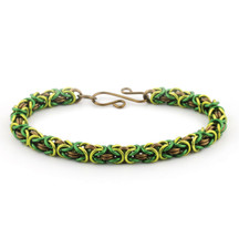 3-Color Byzantine Bracelet Kit - Forest