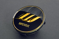 Black/Gold Work W Center Cap - Small Base