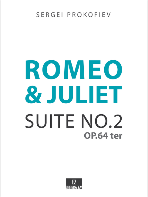 Romeo and Juliet Suite No.2 Op.64ter Score and Parts