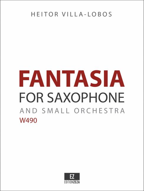 Villa Lobos: Fantasia for Saxophone and Orchestra sheet music parts