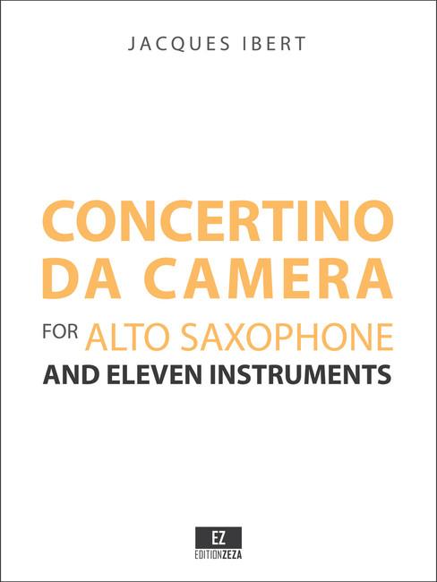 Ibert - Concertino da Camera , Score and Parts