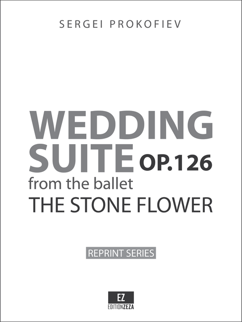 """Prokofiev Wedding Suite from """"The Stone Flower"""" Op.126 - Score and Parts"""