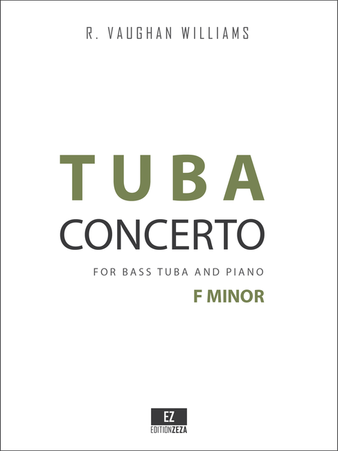 Vaughan Williams Tuba Concerto in F minor for Bass Tuba and Piano