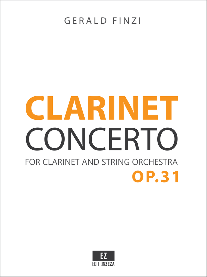 Finzi Clarinet Concerto, Score and Parts