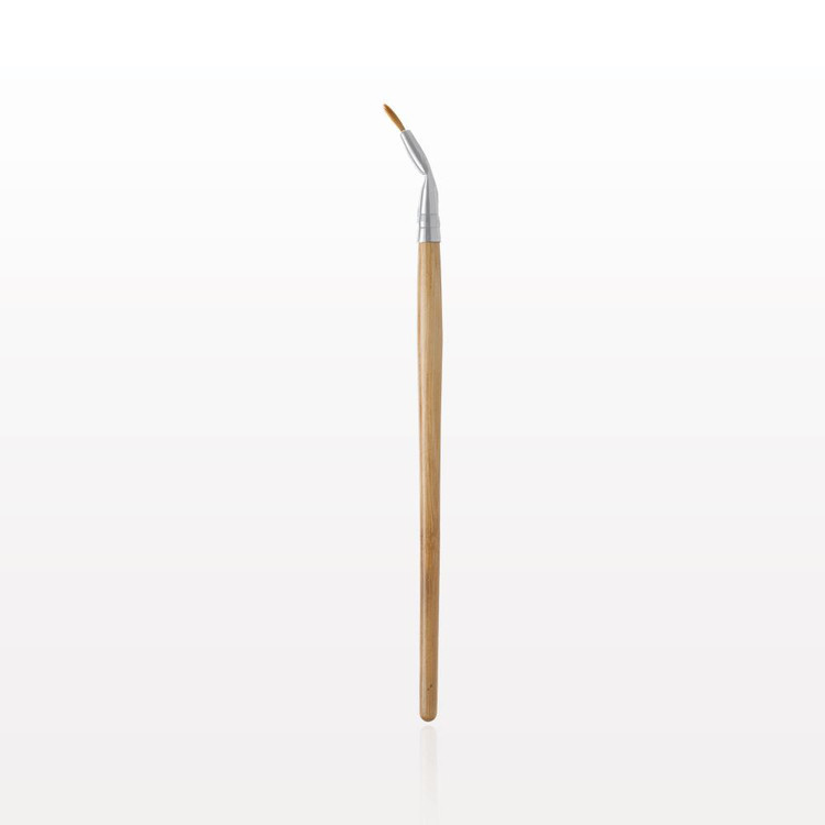 Vegan Bamboo Bent Eyeliner Brush