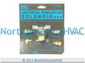 Universal Aprilaire General Humidifier Water Solenoid Valve 4040 AP-4040 990-53