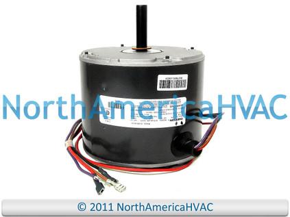 Trane condenser fan motor 1 6 hp 200 230v mot10433 north for Trane fan motor replacement cost