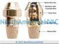 Oil Burner Nozzle Delavan .75 GPH 90 Degrees Solid Cone B S ES R AS P PLP USA