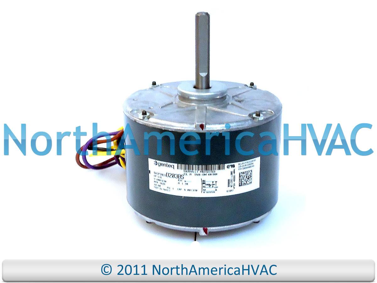 Oem trane american standard ge genteq condenser fan motor for Trane fan motor replacement cost