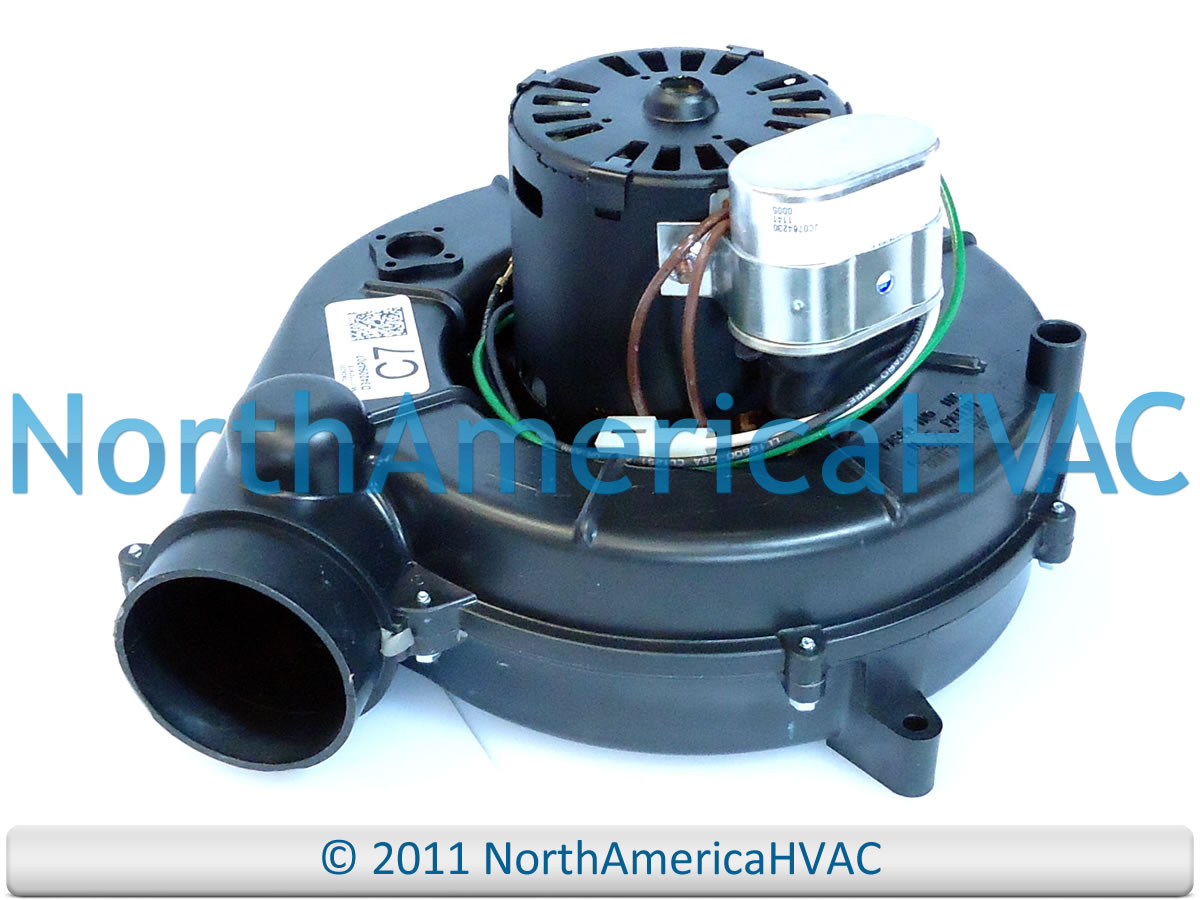 Oem trane american standard furnace venter draft inducer for Luxaire furnace draft inducer motor