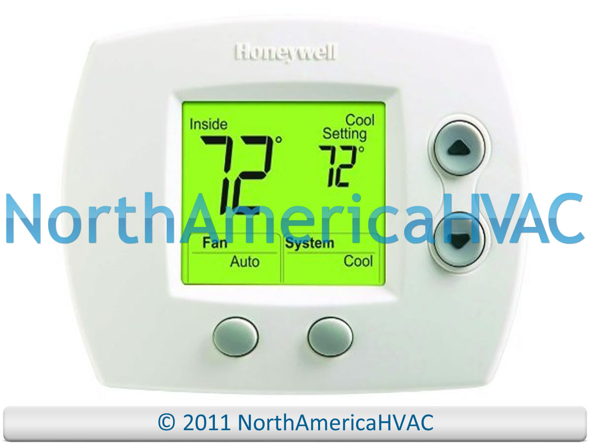 oem honeywell focuspro 5000 digital thermostat 1h 1c th5110d1006 th5110d 1006 america