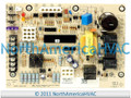 OEM Goodman Amana Honeywell Furnace Control Circuit Board 1068-600 1068-600-I