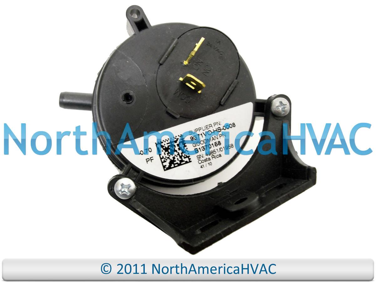 Oem Furnace Vacuum Air Pressure Switch Mpl 9300 V 0 70