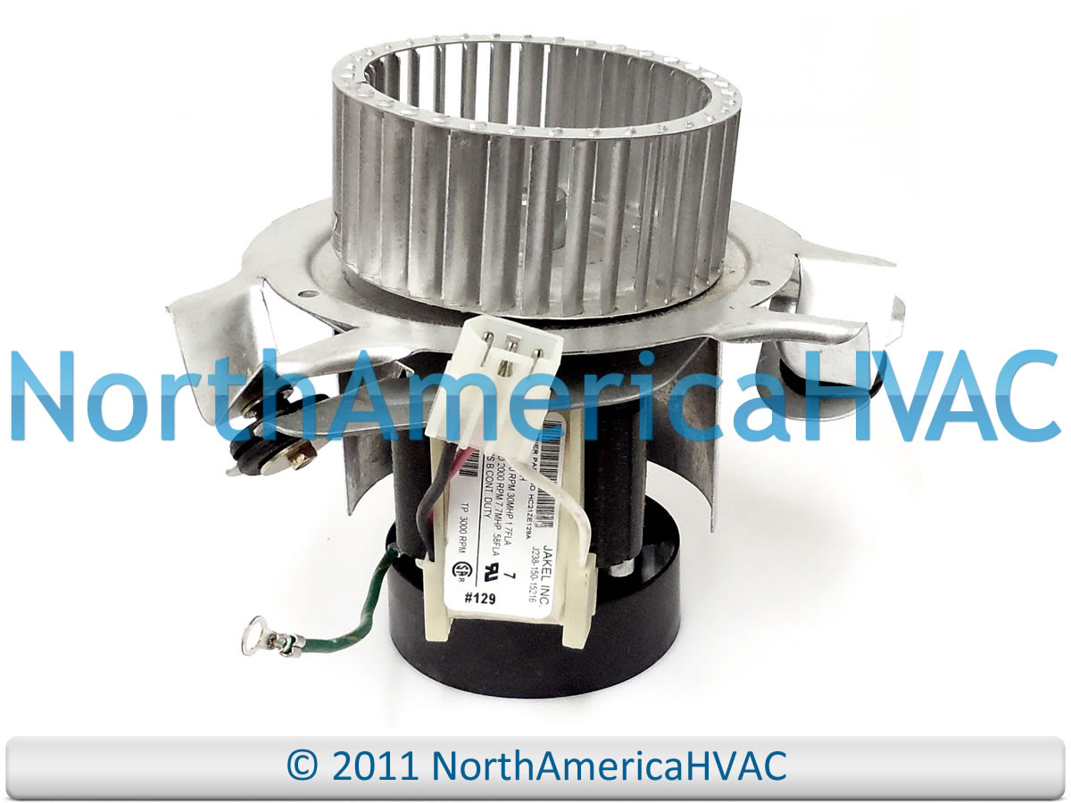 Oem carrier bryant payne furnace exhuast draft inducer for Luxaire furnace draft inducer motor