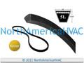 "New Vbelt Heavy Duty Aramid Kevlar V-Belt B44 B44K 5L470 5LK470 5/8"" x 47"""