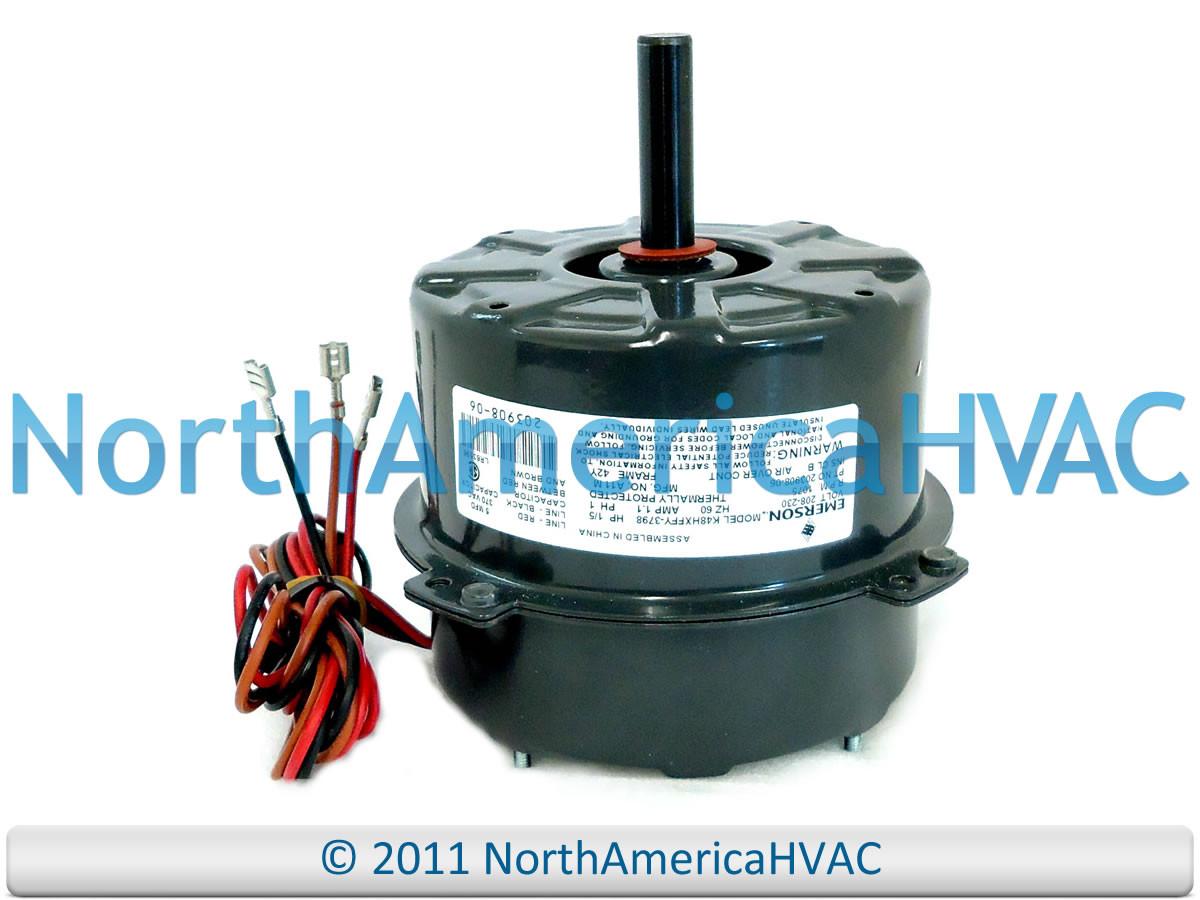 Lennox Emerson 1 5 Hp Fan Motor 208 230 K48hxffy 3798