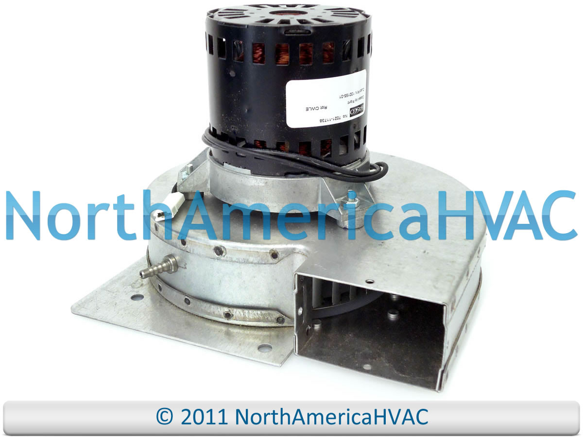 Lennox armstrong fasco furnace exhaust inducer motor 7121 for Lennox furnace motor price