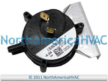 Intertherm Nordyne Miller Air Pressure Switch 632332
