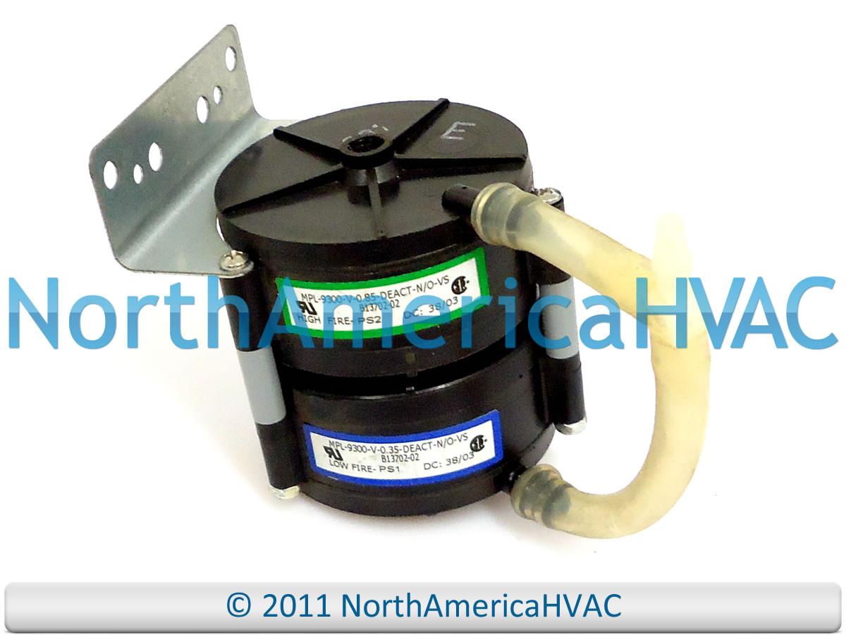 Goodman Pressure Switch Mpl 9300 V 0 35 Deact N O Vs