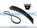 "Allis Chalmers Simplicity Industrial V-Belt 105340 2027624 5/8"" x 96"""