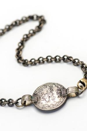 Wrap Coin Bracelet