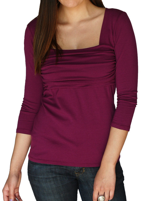 Jersey Banded Bodice Tee