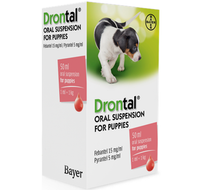Drontal Oral Suspension Worming Drops for Puppies